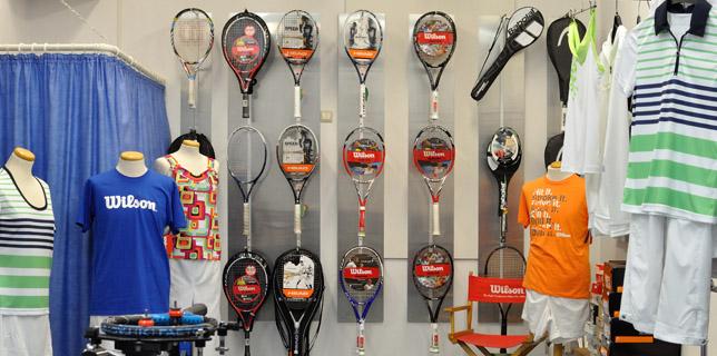 Tennis, Sportartikel, Service, Beratung, Test ..
